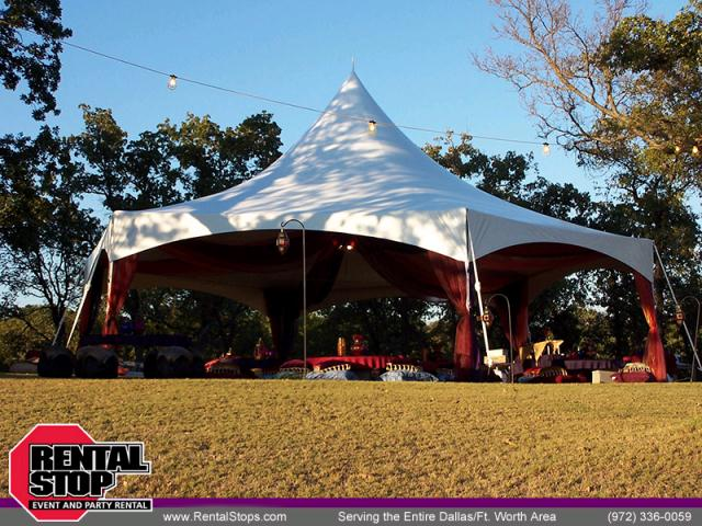 Where to find 40  HEXAGON MARQUEE TENT in Dallas