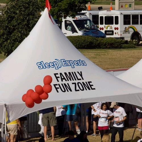 Where to find Tent Graphics in Dallas