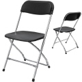Where to rent BLACK   CHROME CHAIR in DFW Dallas Texas