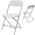 Where to rent WHITE   CHROME CHAIR in DFW Dallas Texas