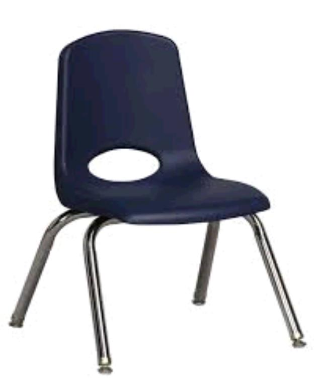 Where to find CHILDREN S CHAIR STACKABLE NAVY in Dallas