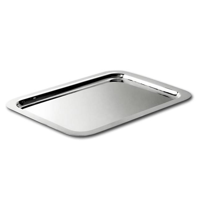 Where to find 12  X 18  Sq Silver Tray in Dallas
