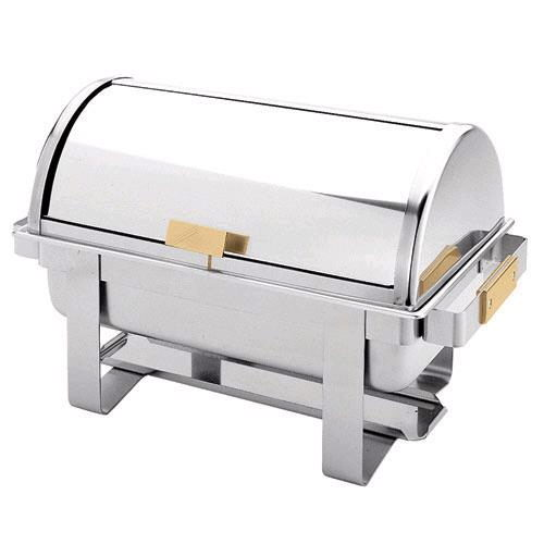 Where to find 8 QT STAINLESS ROLLTOP CHAFER in Dallas