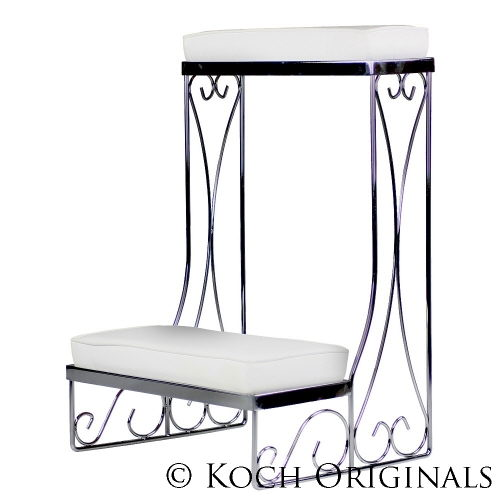 Where to find White Kneeling Bench  Pair in Dallas
