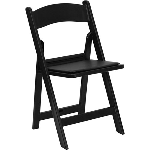 Where to find BLACK GARDEN PADDED CHAIR in Dallas