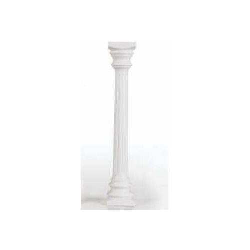 Where to find 84  PVC WHITE COLUMN in Dallas