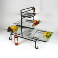 Rental store for 4 TIERED TRAY W BLACK FRAME in Dallas TX