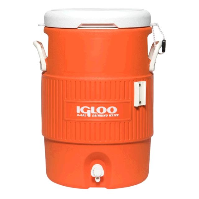 Where to find 5 GAL ORANGE IGLOO in Dallas