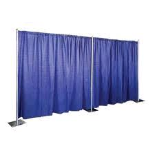Where to find Pipe Drape Run 10 w x 14 h  Velour in Dallas