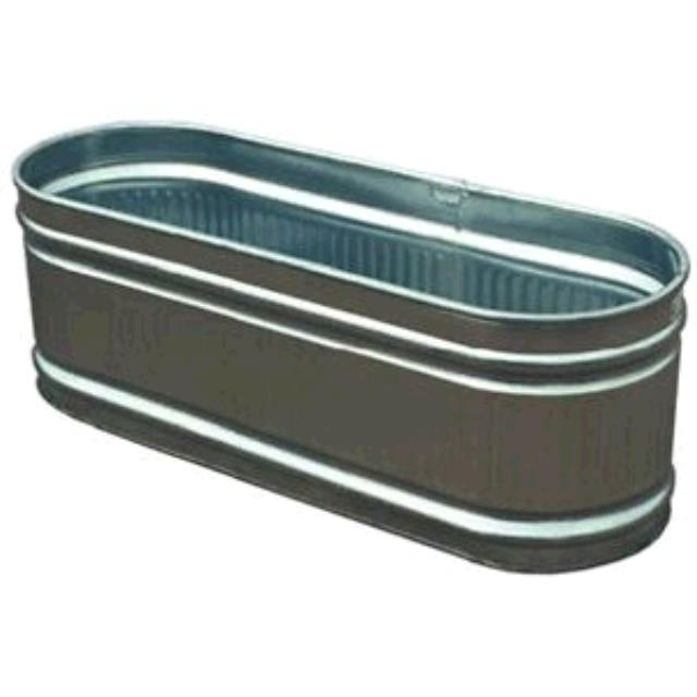 Where to find Horse Trough Galvanized 44Gal in Dallas