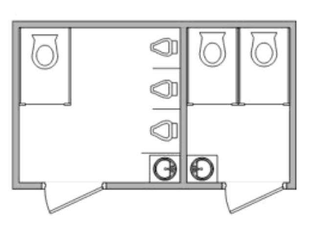 Where to find RESTROOM TRAILER 2FS 3U 1MS in Dallas