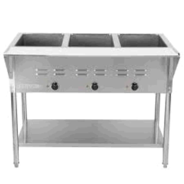 Where to find Buffet Steam Table in Dallas